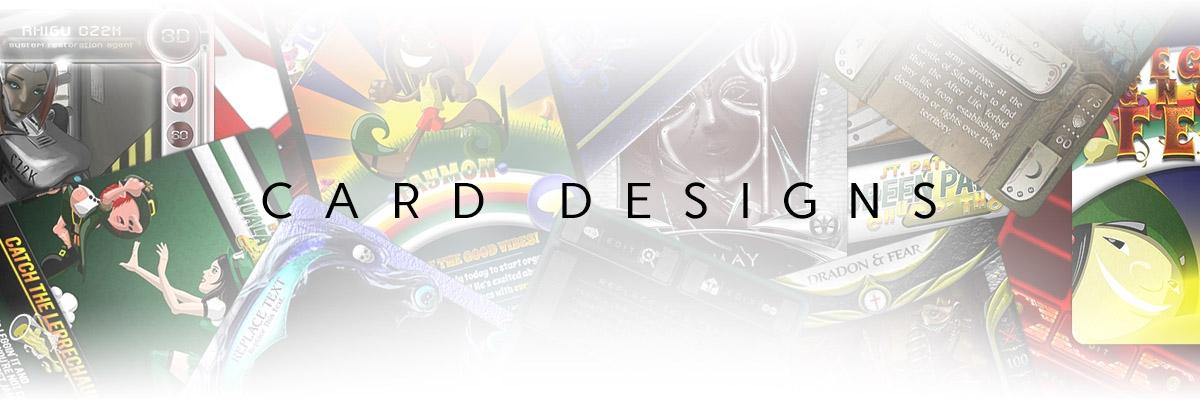Card Designs Header