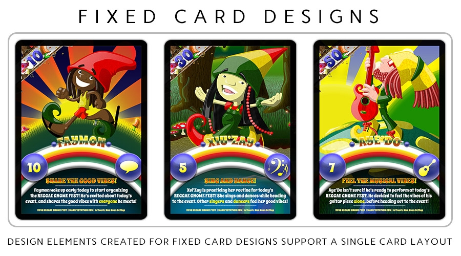 Fixed Card Designs Example