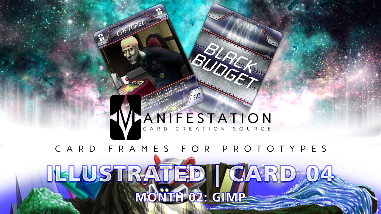 Manifestation CCS Monthly Card Frames for Prototypes Month 02 | Card 04 Gimp