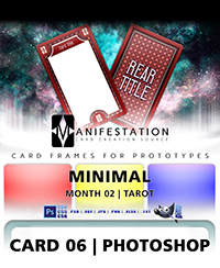 Monthly Card Frames for Ptototypes - Card 06 Photoshop