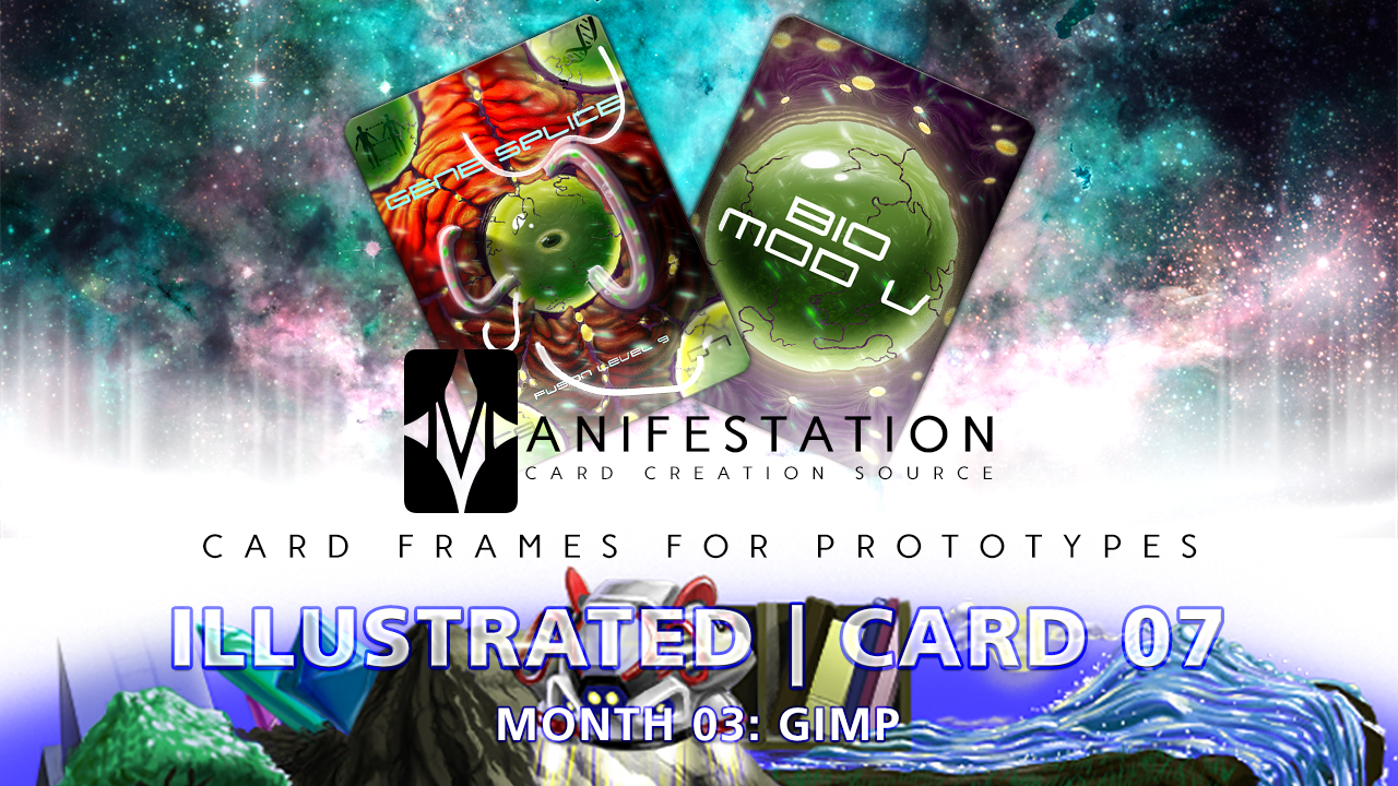 Manifestation CCS Monthly Card Frames for Prototypes Month 03 | Card 07 Gimp