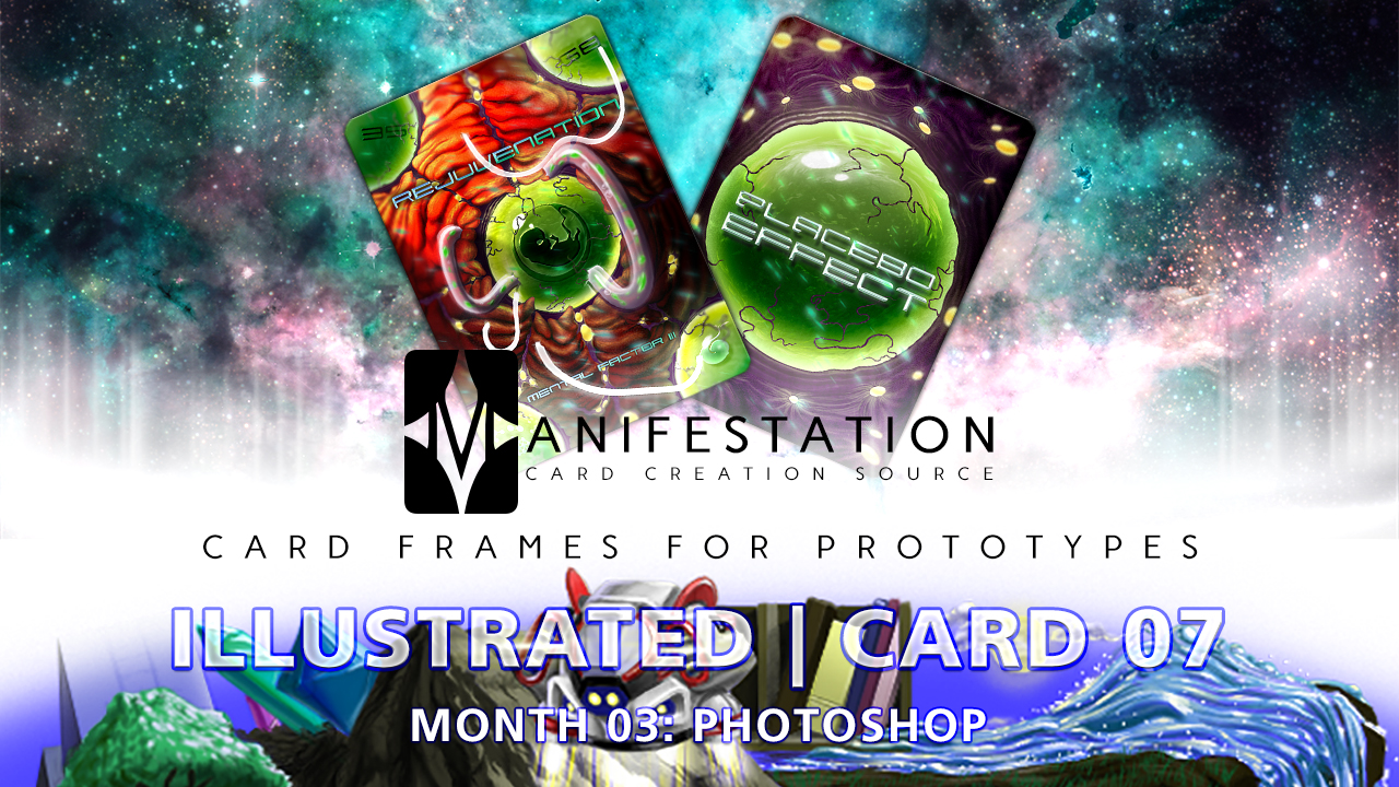 Manifestation CCS Monthly Card Frames for Prototypes Month 03 | Card 07 Photoshop