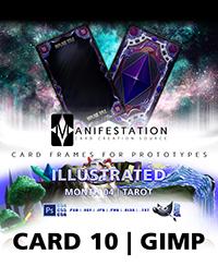 Monthly Card Frames for Ptrototypes - Card 10 Gimp