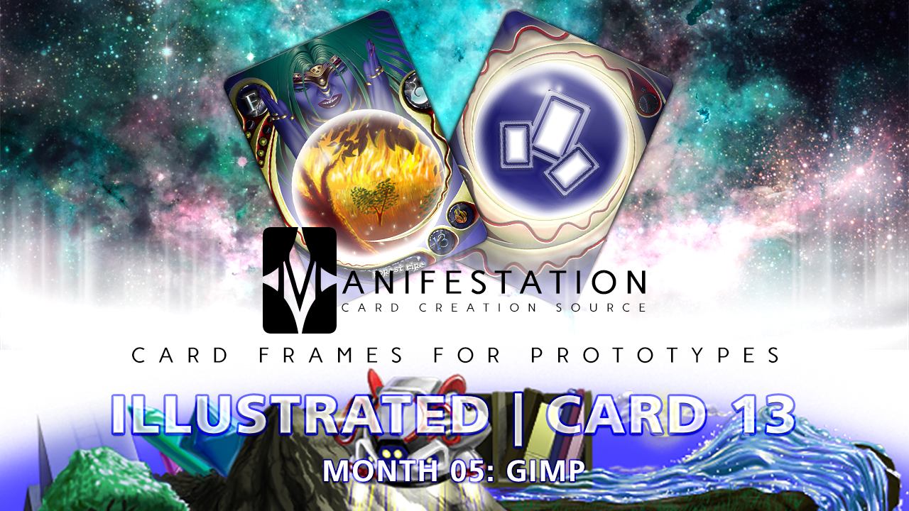 Manifestation CCS Monthly Card Frames for Prototypes Month 05 | Card 13 Gimp