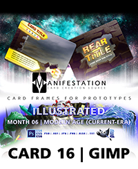 Monthly Card Frames for Prototypes - Card 16 Gimp Thumbnail